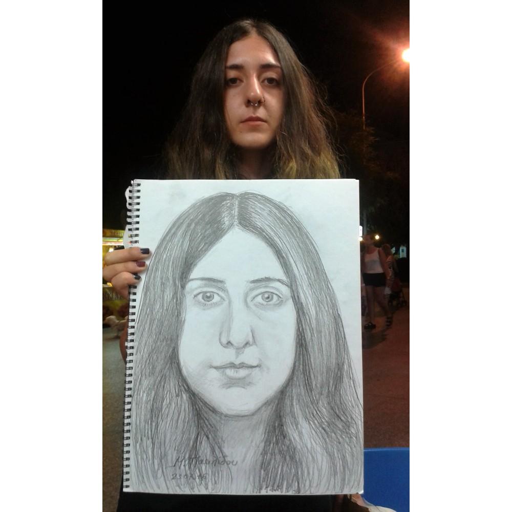 Πορτρέτα-φιγούρες, σχεδιασμένα εκ του φυσικού