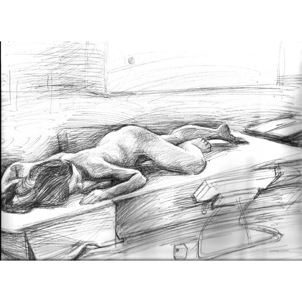Σπουδή γυμνού, Μόναχο, Ακαδημία