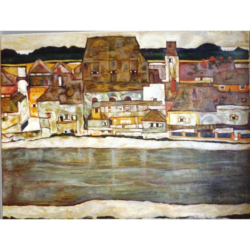 Egon Schiele, τοπίο