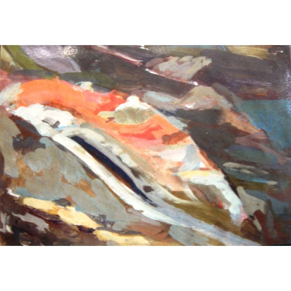 Το κανάλι του Μόρνου, χρωματικό σκίτσο, 1990