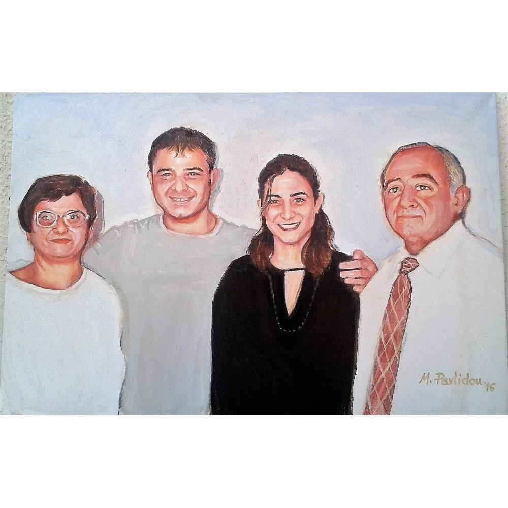 Πορτρέτα σχεδιασμένα από φωτογραφία