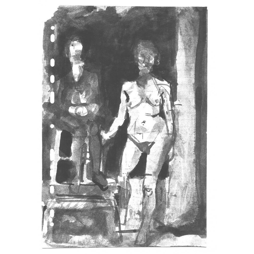 Γυμνό στου Μυταρά, με πινέλο
